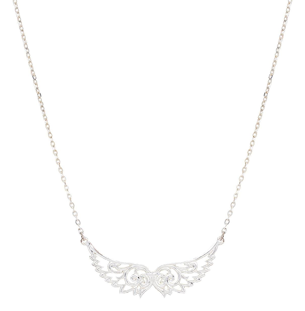 Montana Silversmiths Western Lace Wings Necklace