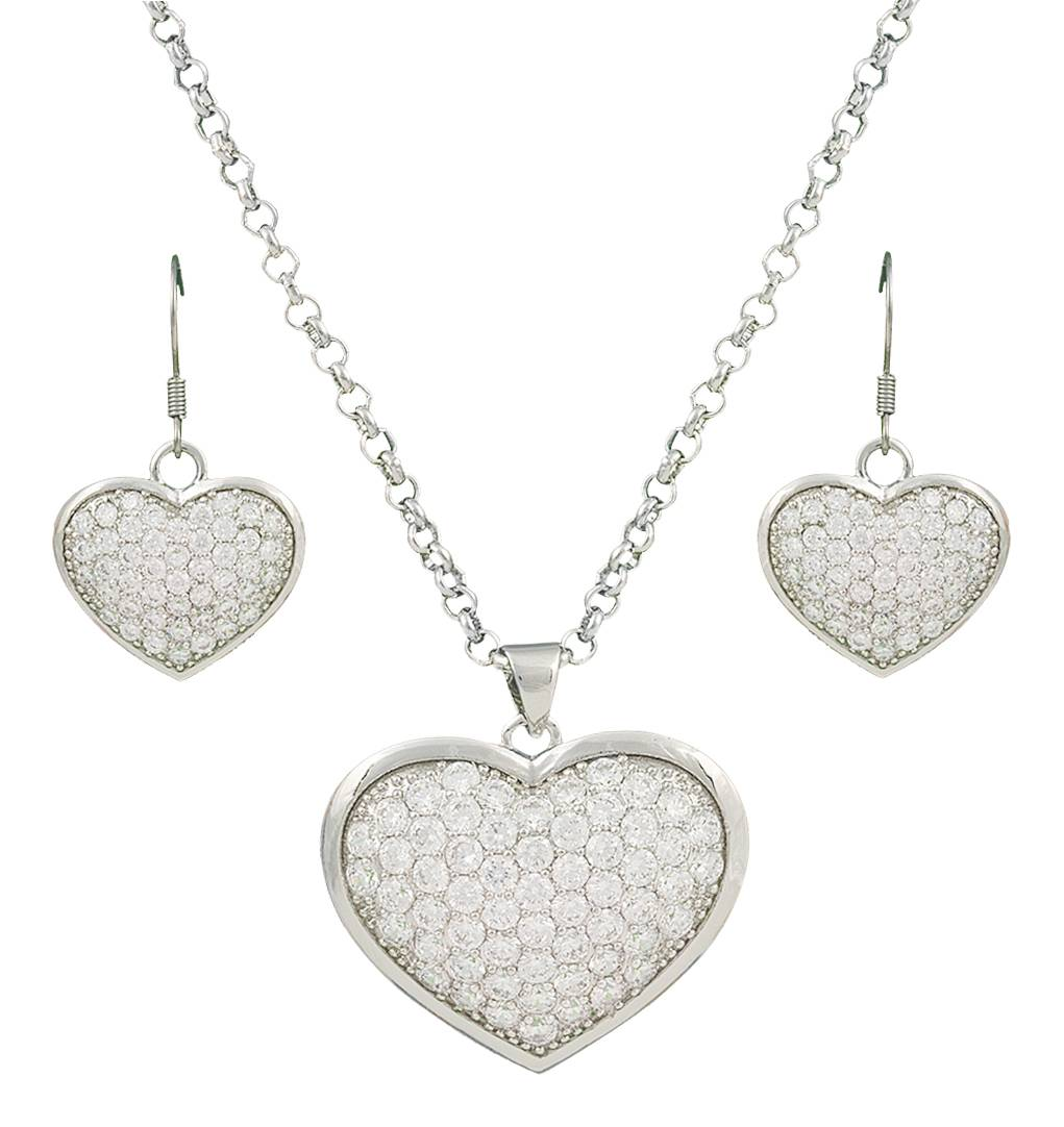 Montana Silversmiths Star Lights Heart Bright Jewelry Set
