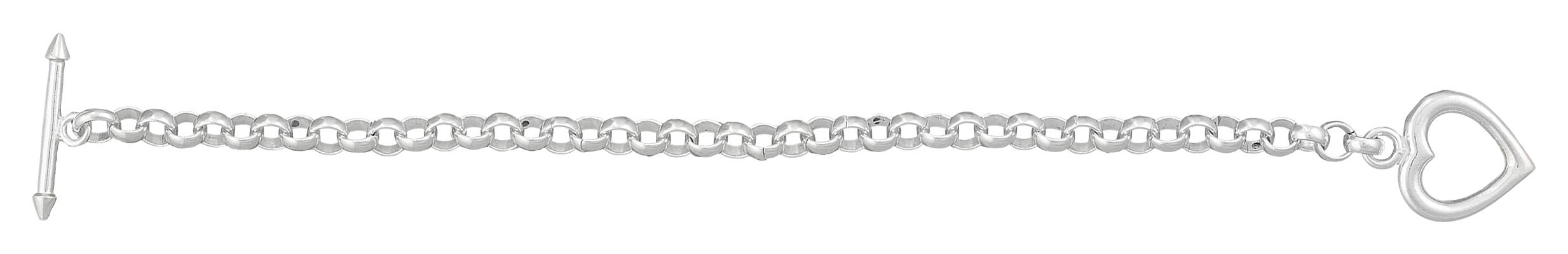 Montana Silversmiths Heart Toggle Chain Bracelet