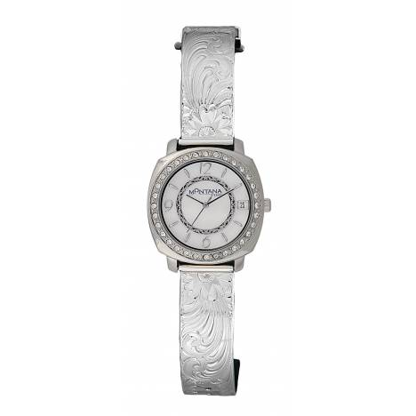 Montana Silversmiths Dress Western Moon Face Watch