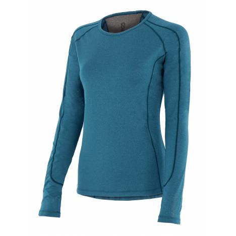 Noble Outfitters Hailey Long Sleeve Crew Shirt - Ladies