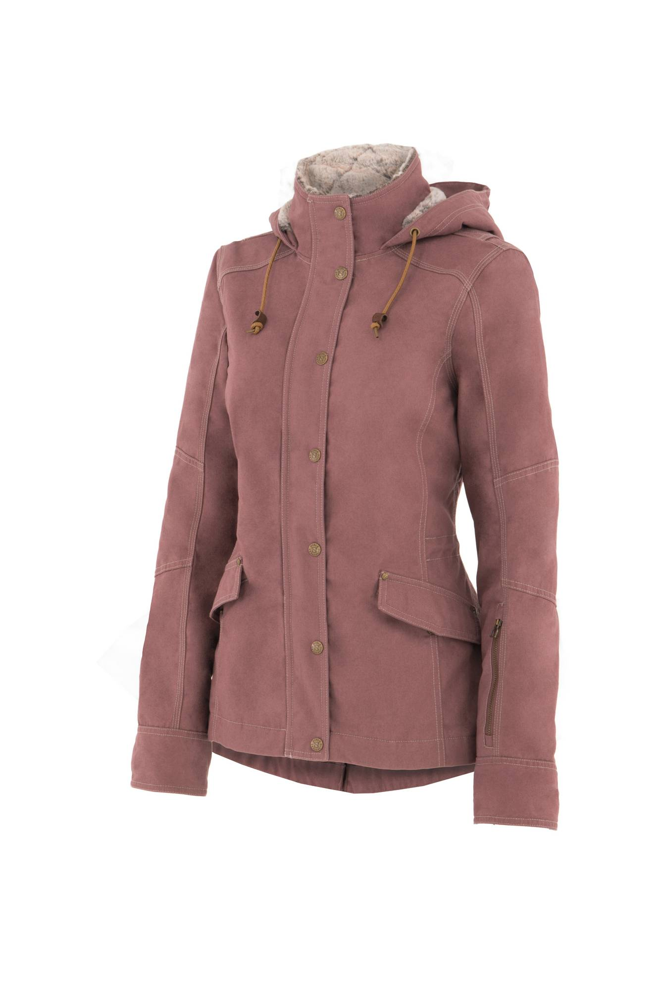Noble Outfitters Girl Tough Canvas Jacket - Ladies