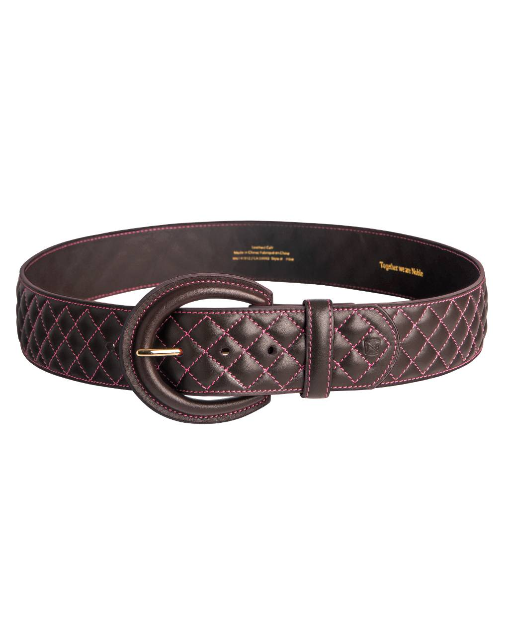 Noble Outfitters Classic Quilted Belt - Ladies
