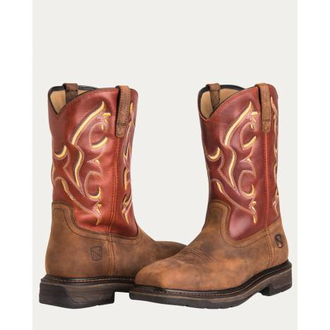 Noble Outfitters Ranch Tough Steel Toe Boots - Mens