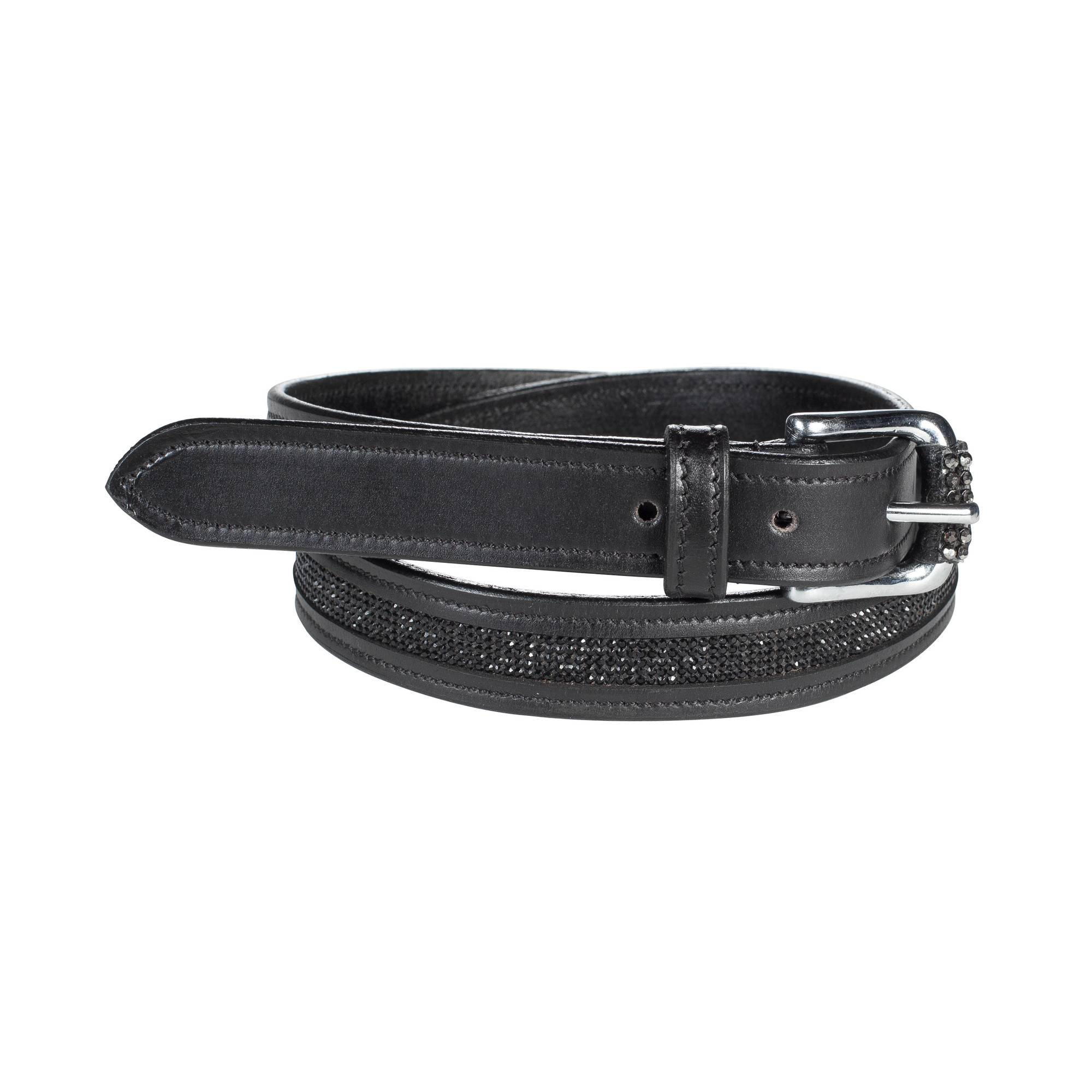 Horze Crescendo Narrow Crystal Belt - Ladies