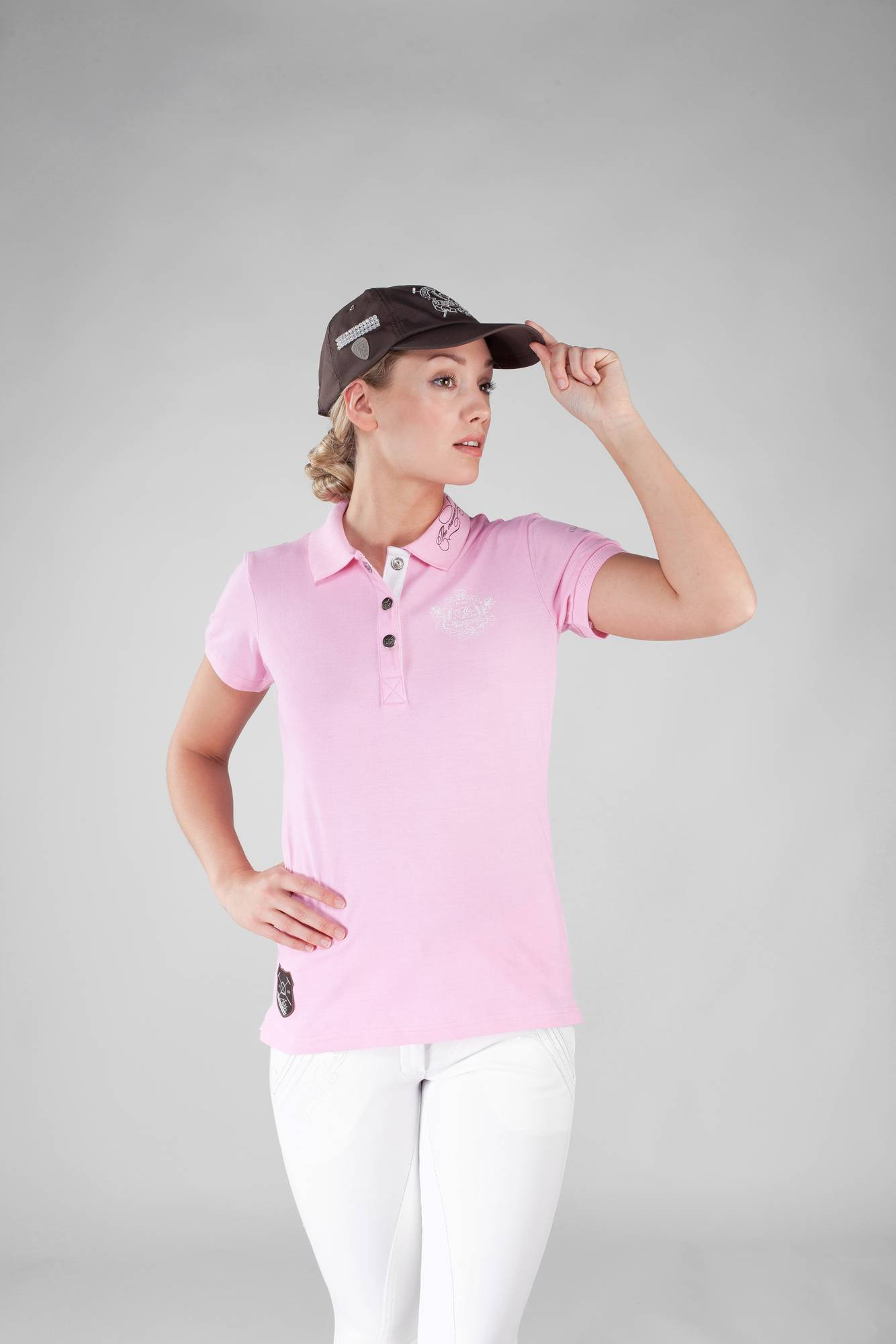 Horze Ladies Crescendo Minya Pique Polo
