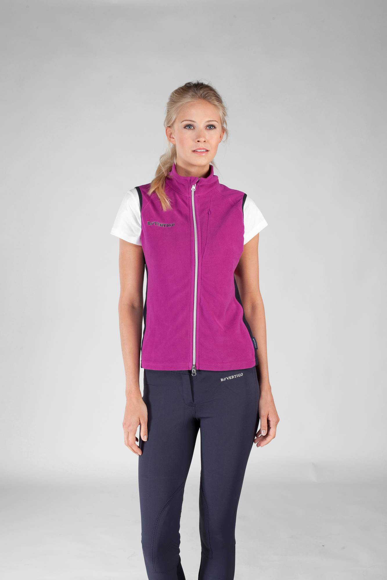 B Vertigo Karen Fleece Vest - Ladies