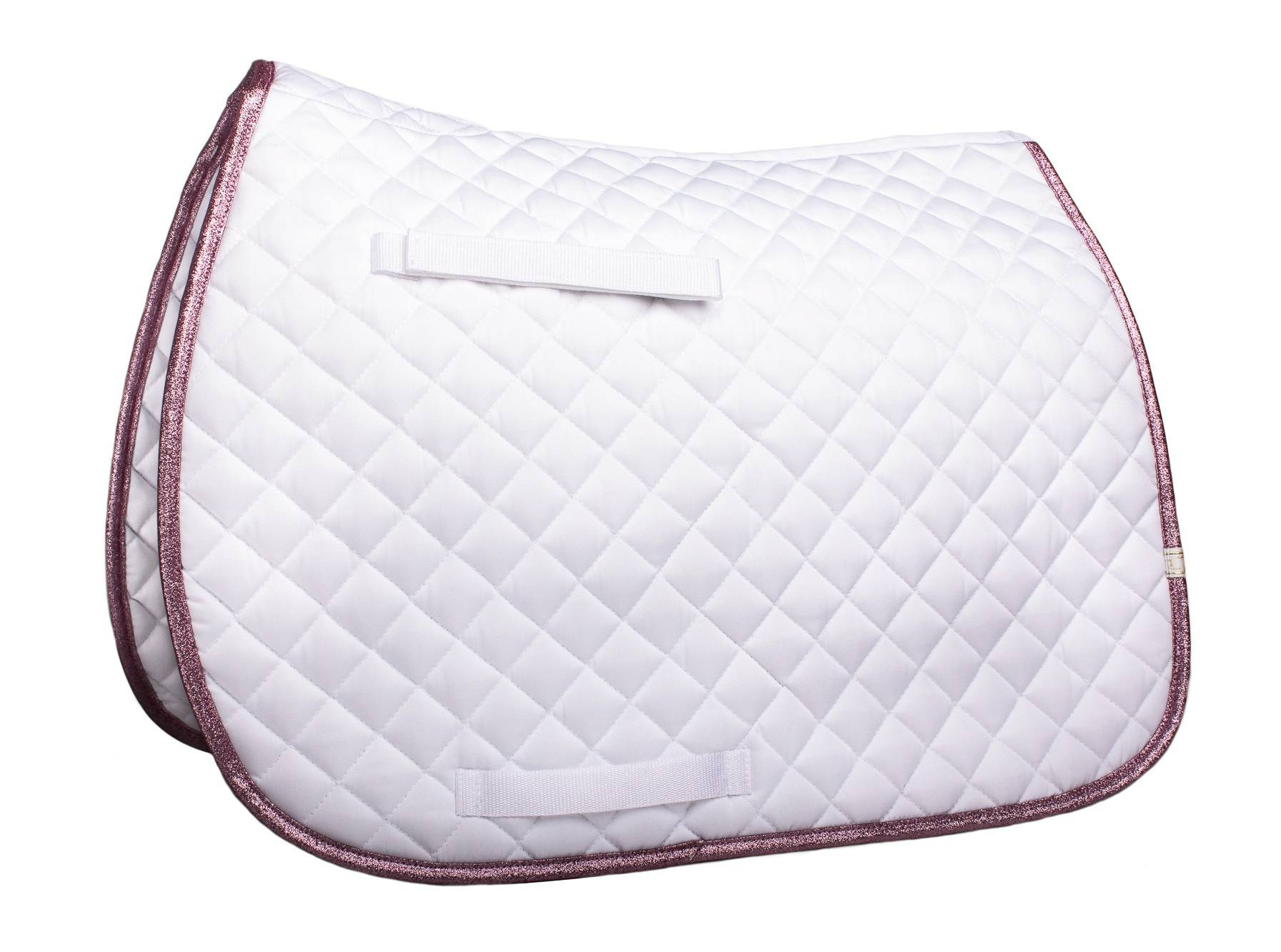Lettia Sparkly Trim Saddle Pad - All Purpose