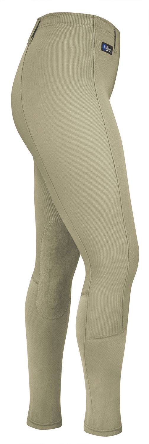Outlet - Irideon Cadence Chausette Breeches - Kids, Knee Patch, Small, Classic Tan