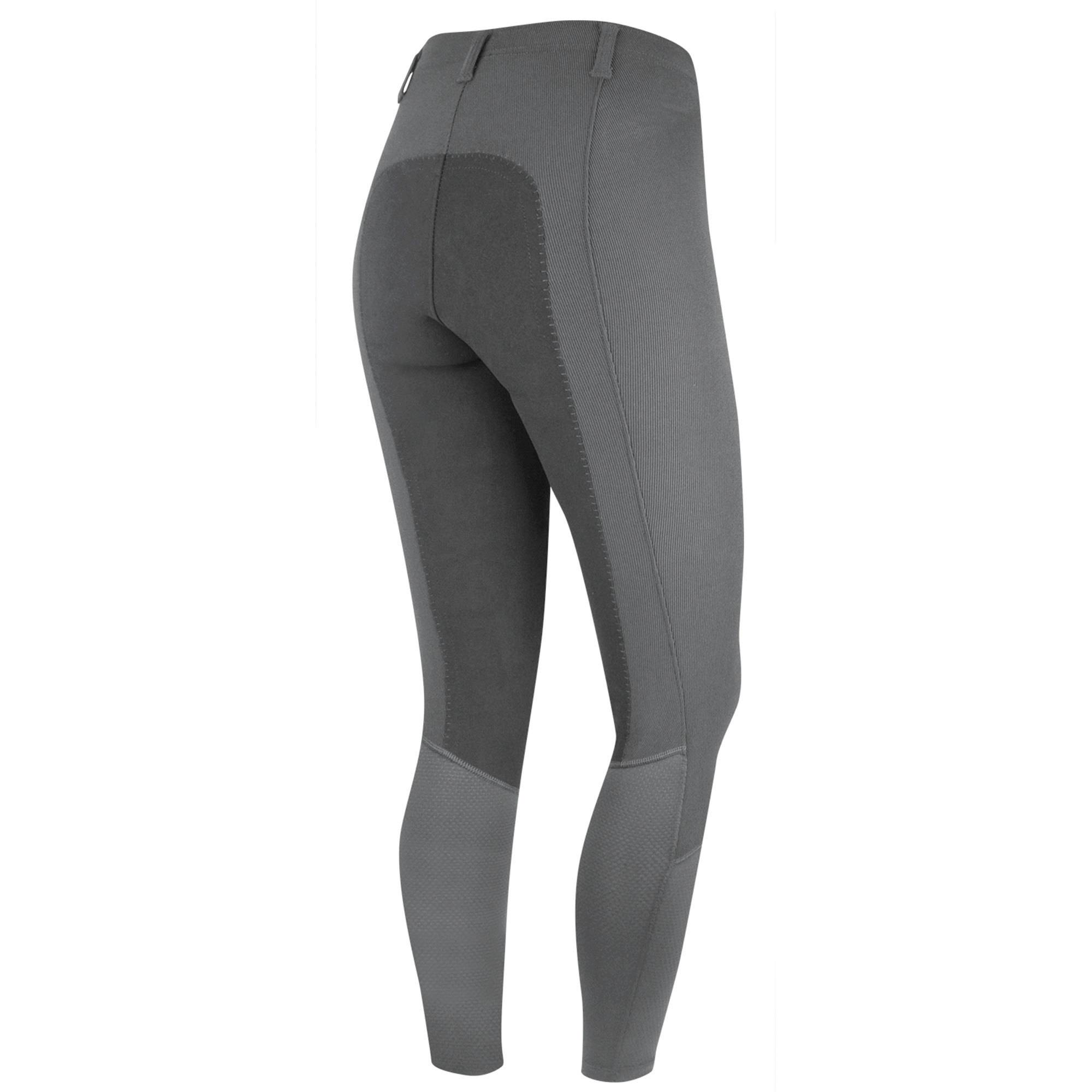 Outlet - Irideon Cadence Chausette Breeches - Ladies, Full Seat, X-Large, Dove Grey