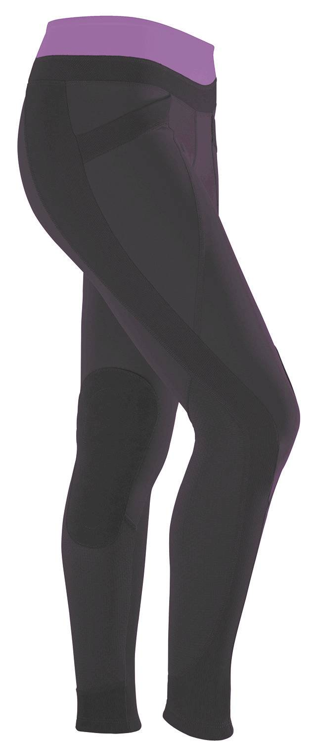 Outlet - Irideon Synergy Tights - Kids, X-Large, Bordeaux Lilac