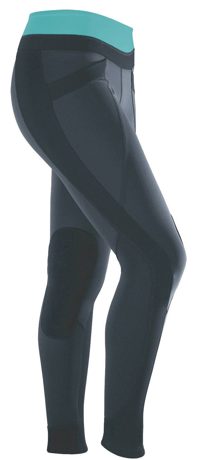 Outlet - Irideon Synergy Tights - Kids, X-Large, Navy Bluebell