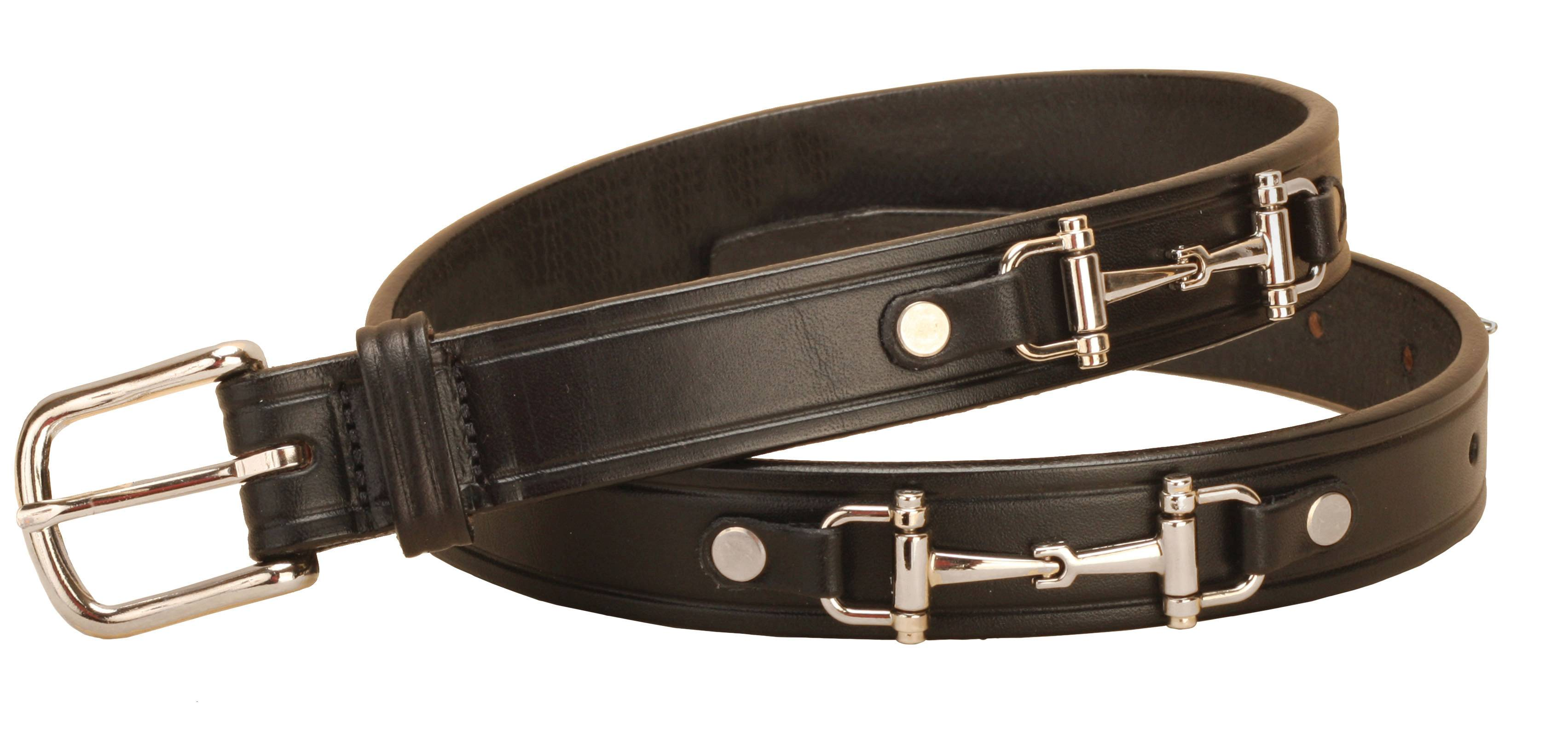 Tory Leather Snaffle Bit Belt