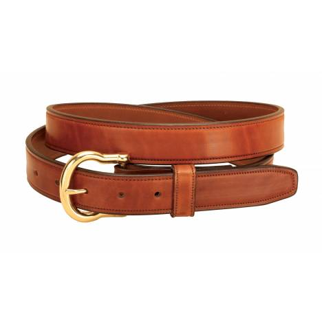 Tory Leather Fully Stitched Harness Leather Belt