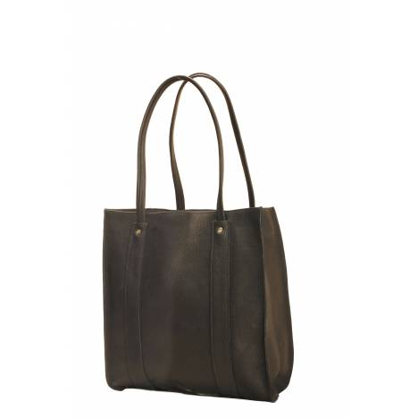 Tory Leather Carry-All Bag With Shoulder Straps
