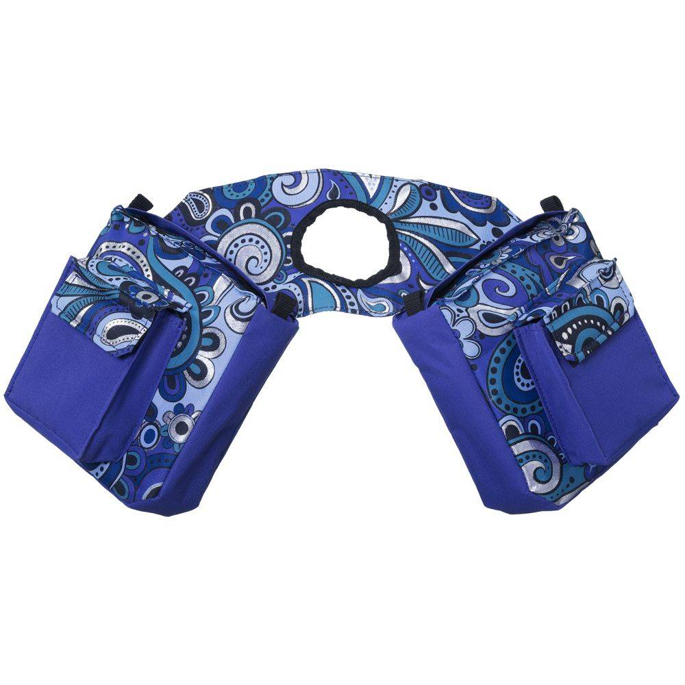Tough-1 Insulated Horn Bag In Paisley Shimmer Print