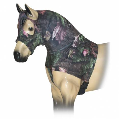 Tough-1 Mane Stay Miniature Nylon/Spandex Hood In Prints