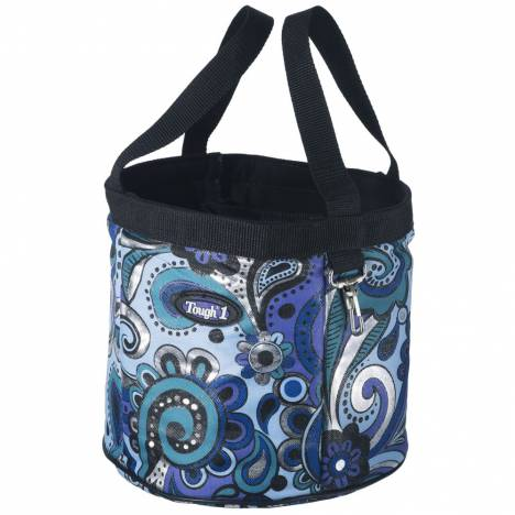 Tough-1 Final Touches Grooming Caddy In Paisley Shimmer Print