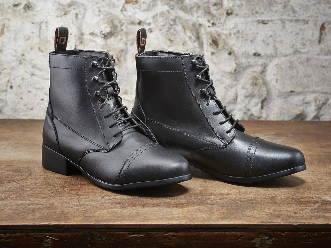Dublin Foundation Laced Paddock Boots - Kids