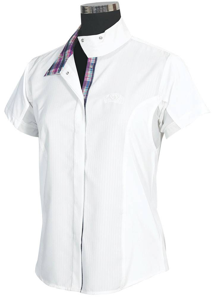 Equine Couture Amber Show Shirt - Ladies, Short Sleeve