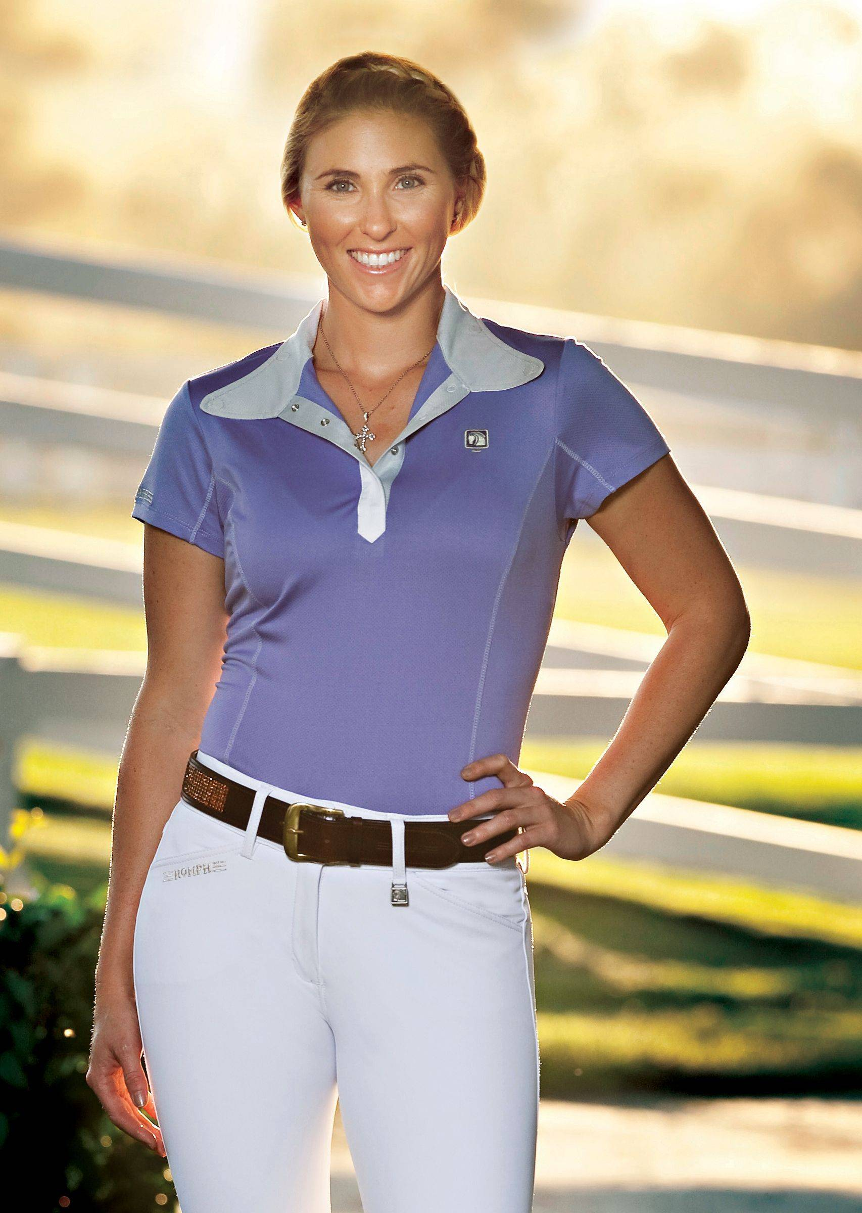 Romfh Ladies Competitor Show Shirt - Short Sleeve