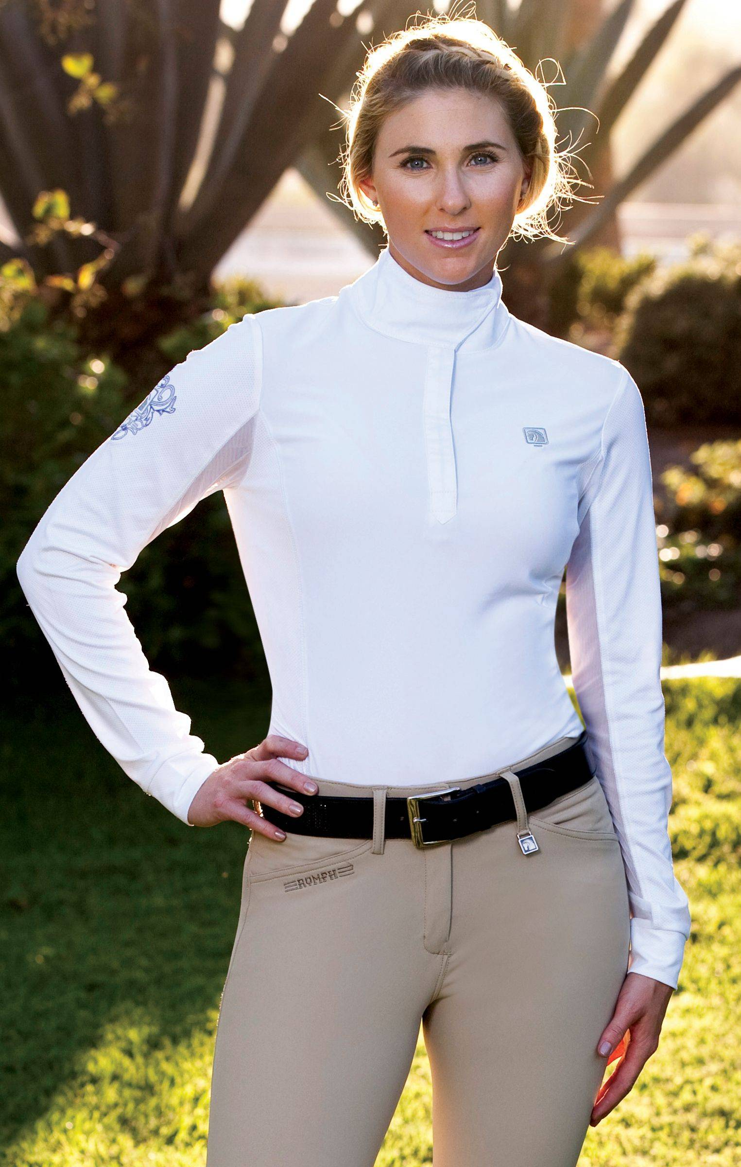 Romfh Competitor Show Shirt - Ladies, Long Sleeve