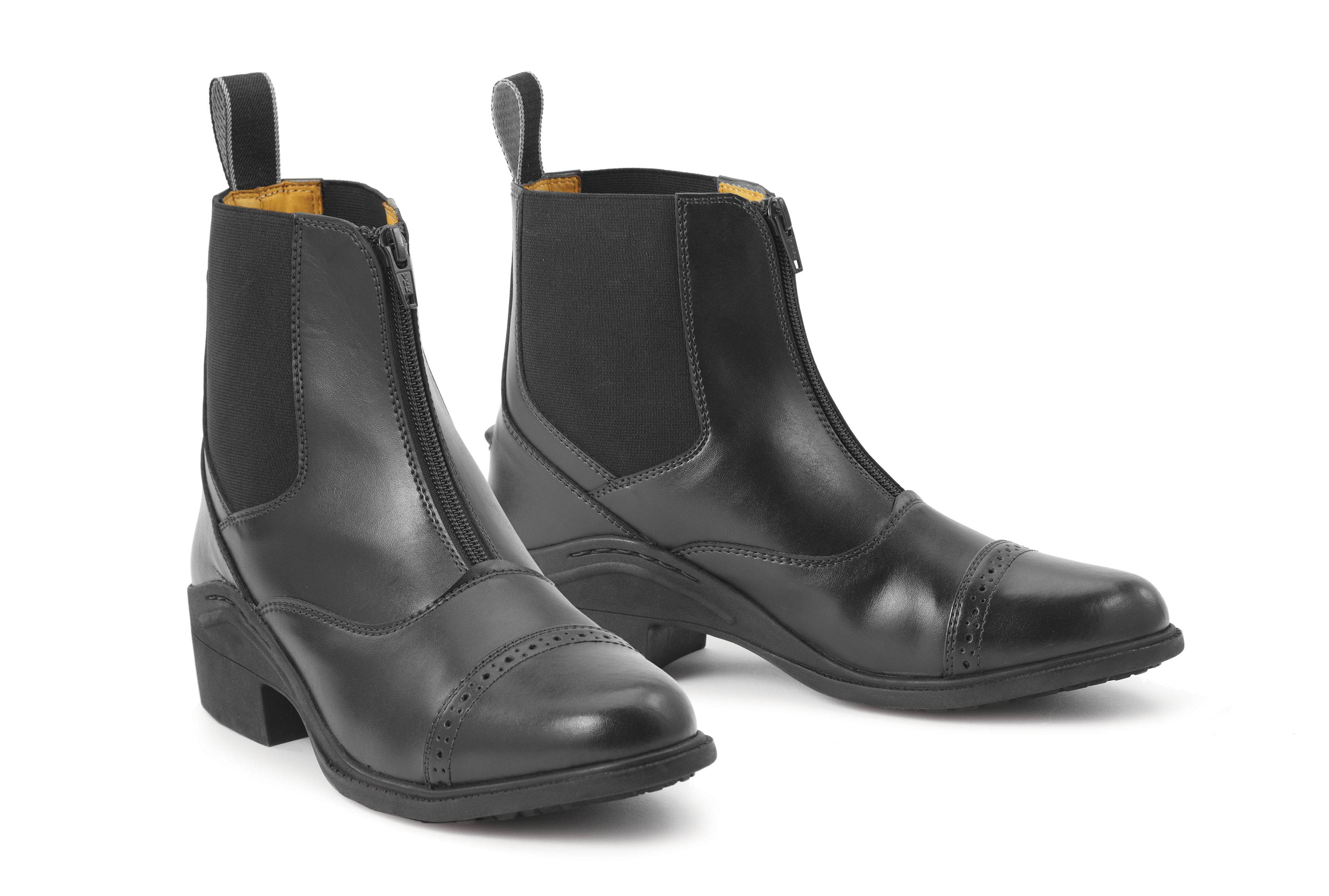 Ovation Synergy Front Zip Paddock Boots - Ladies