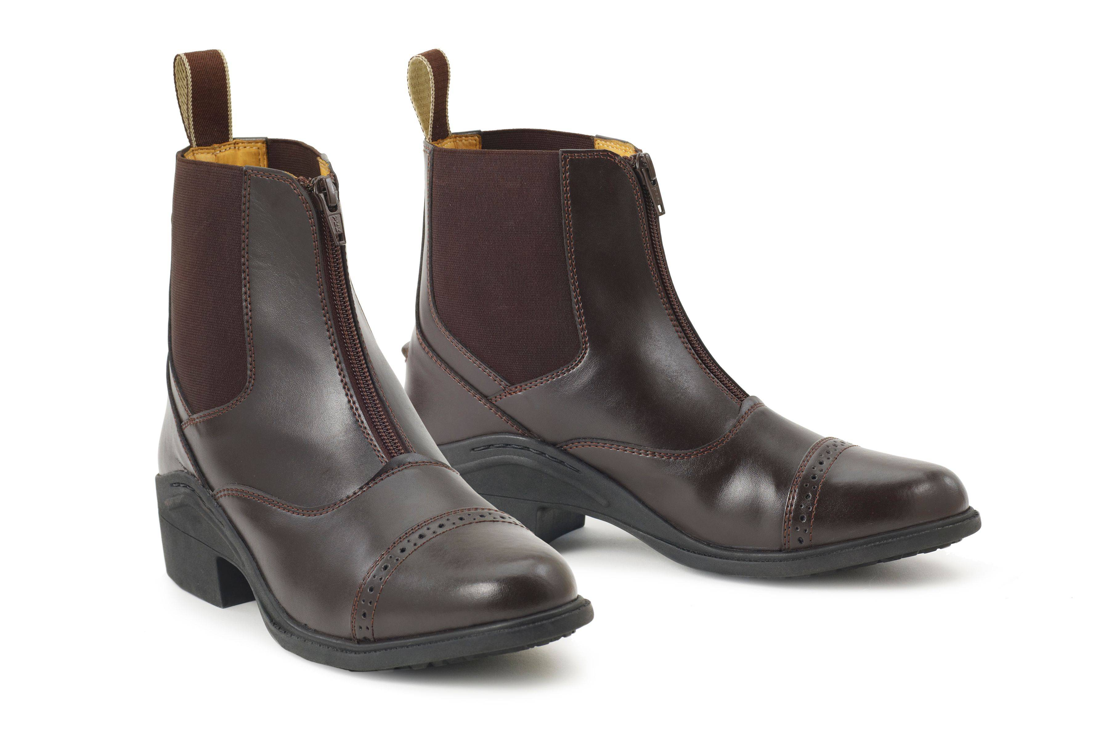 Ovation Synergy Front Zip Paddock Boots - Kids