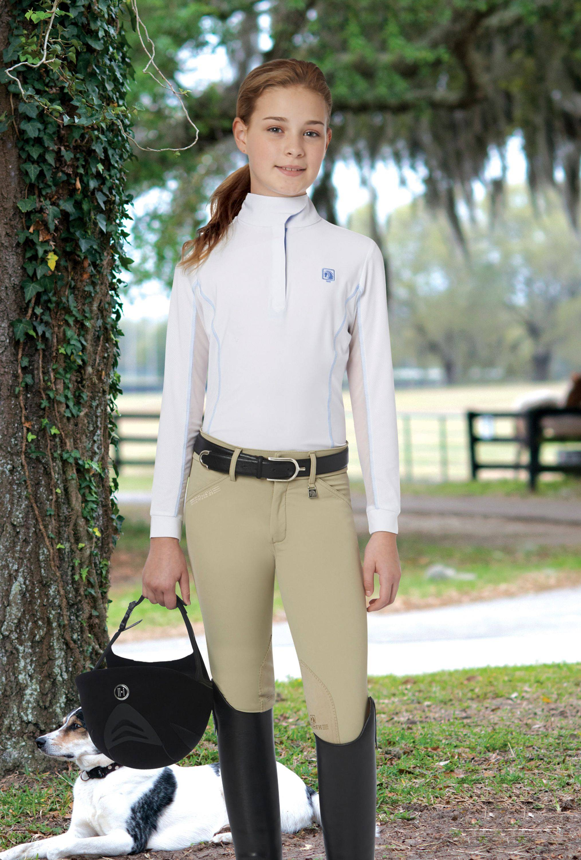 Outlet - Romfh Sarafina Breeches - Kids, Euro Seat, 12, Beige