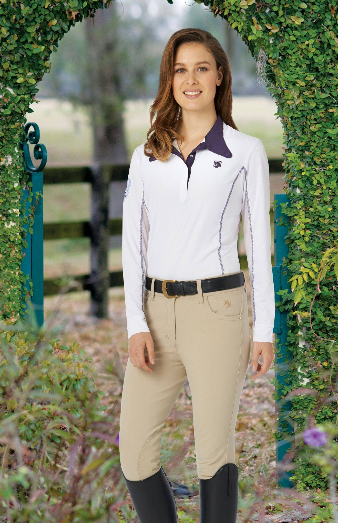 Romfh St Tropez Breeches - Ladies, Knee Patch