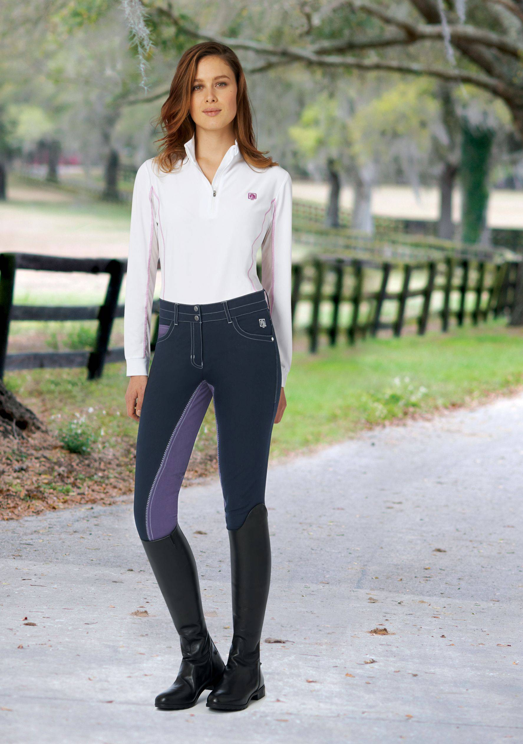 Romfh St Tropez Breech - Ladies, Full Seat