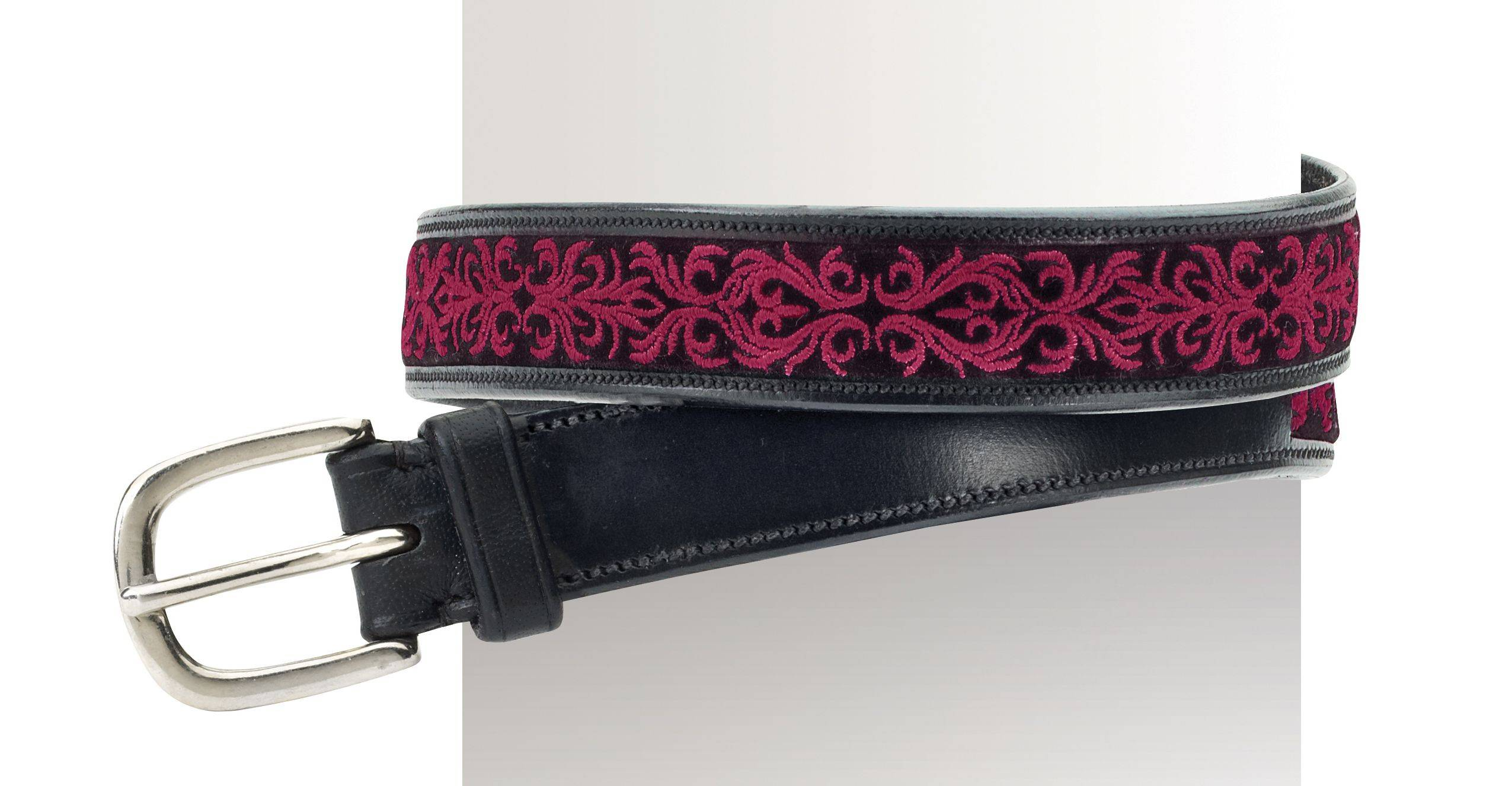 Ovation Fligree Embroidered Belt - Ladies, 1""