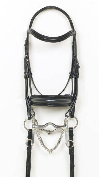 Ovation Weymouth Double Dressage Bridle