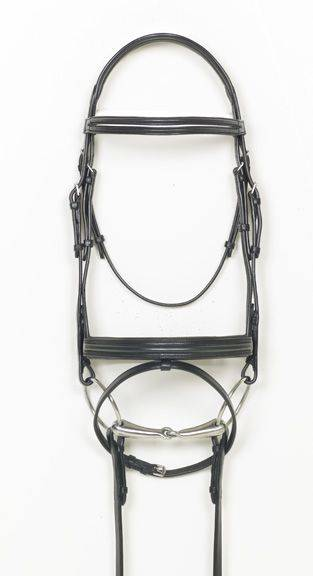 Ovation Split Browband Dressage Bridle