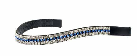 Ovation Crystal Hearts Browband
