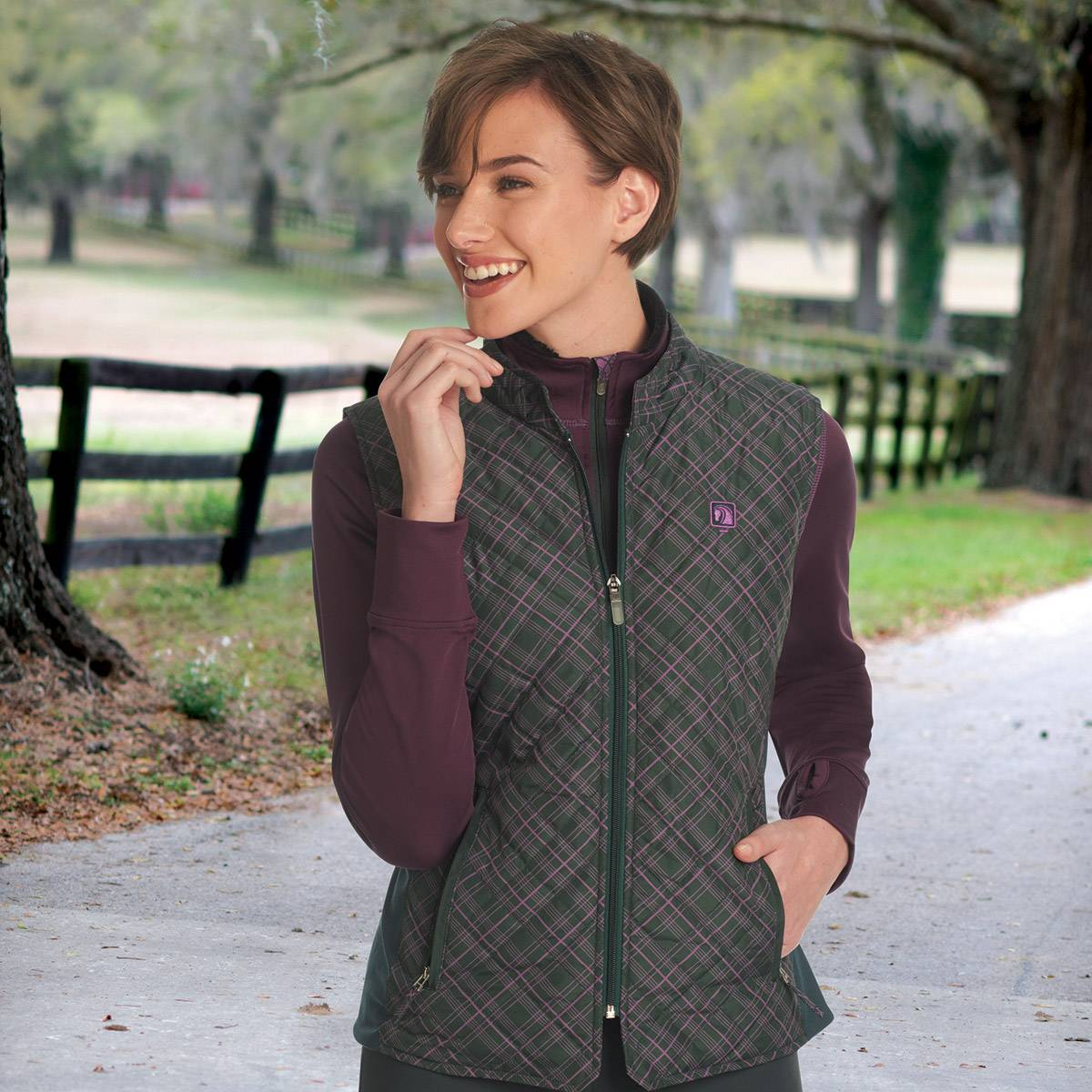 Romfh Hampton Quilted Vest - Ladies