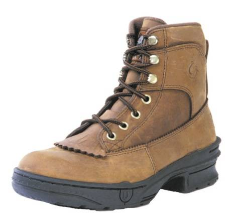 Roper Crossrider Horseshoe Boots - Mens, Brown
