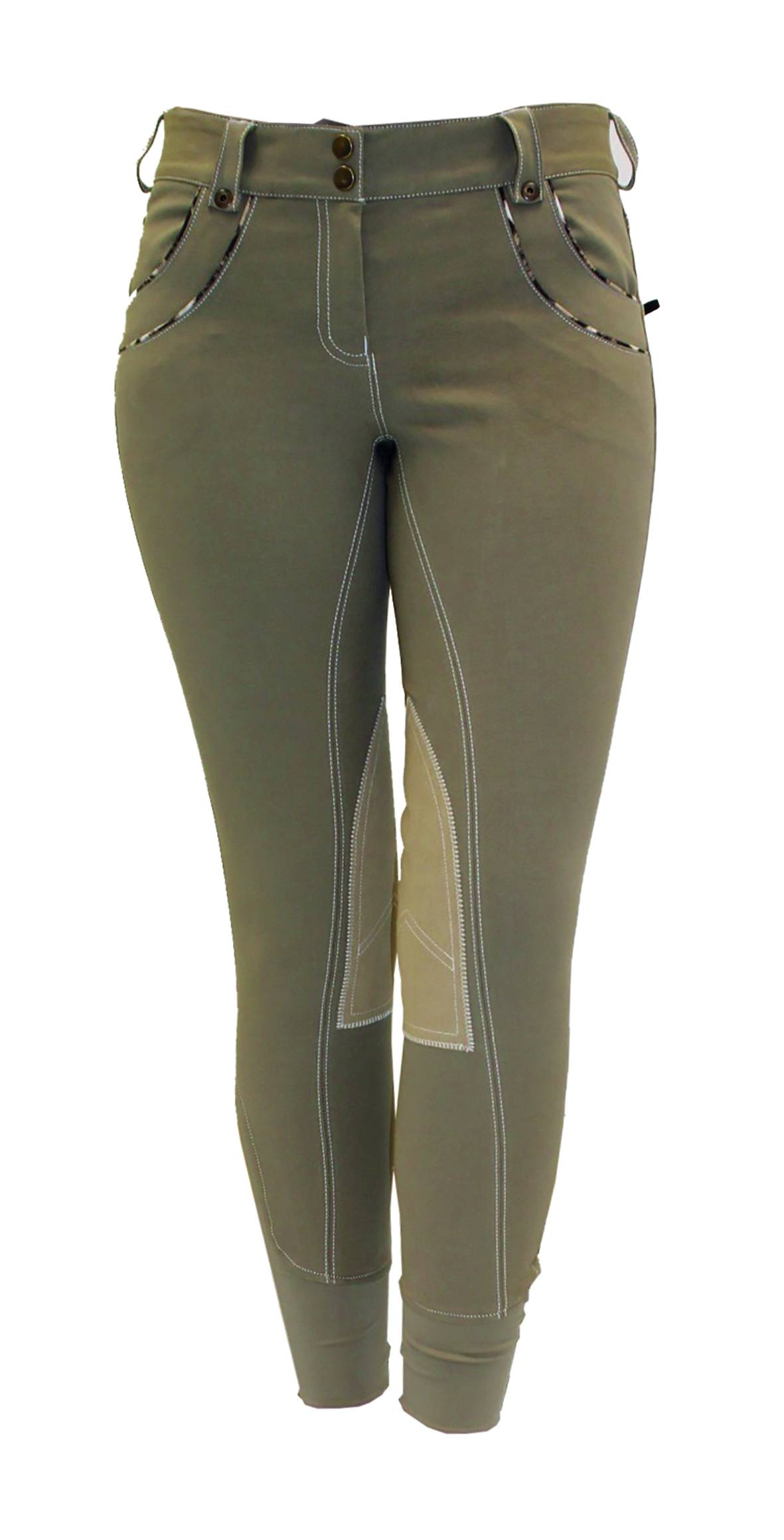 Horseware Polo Nina Safari Breeches - Ladies, Knee Patch
