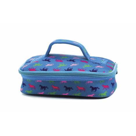 Kelley Neoprene Cosmetic Case - Horses