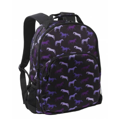 Kelley Shades of Horses Backpack - Purple