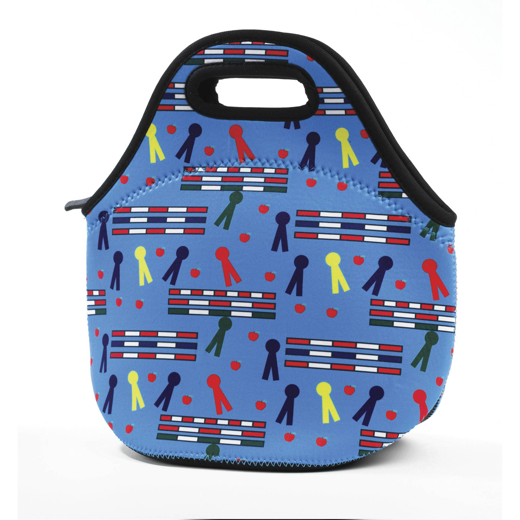 Kelley Neoprene Lunch Tote - Rails & Ribbons