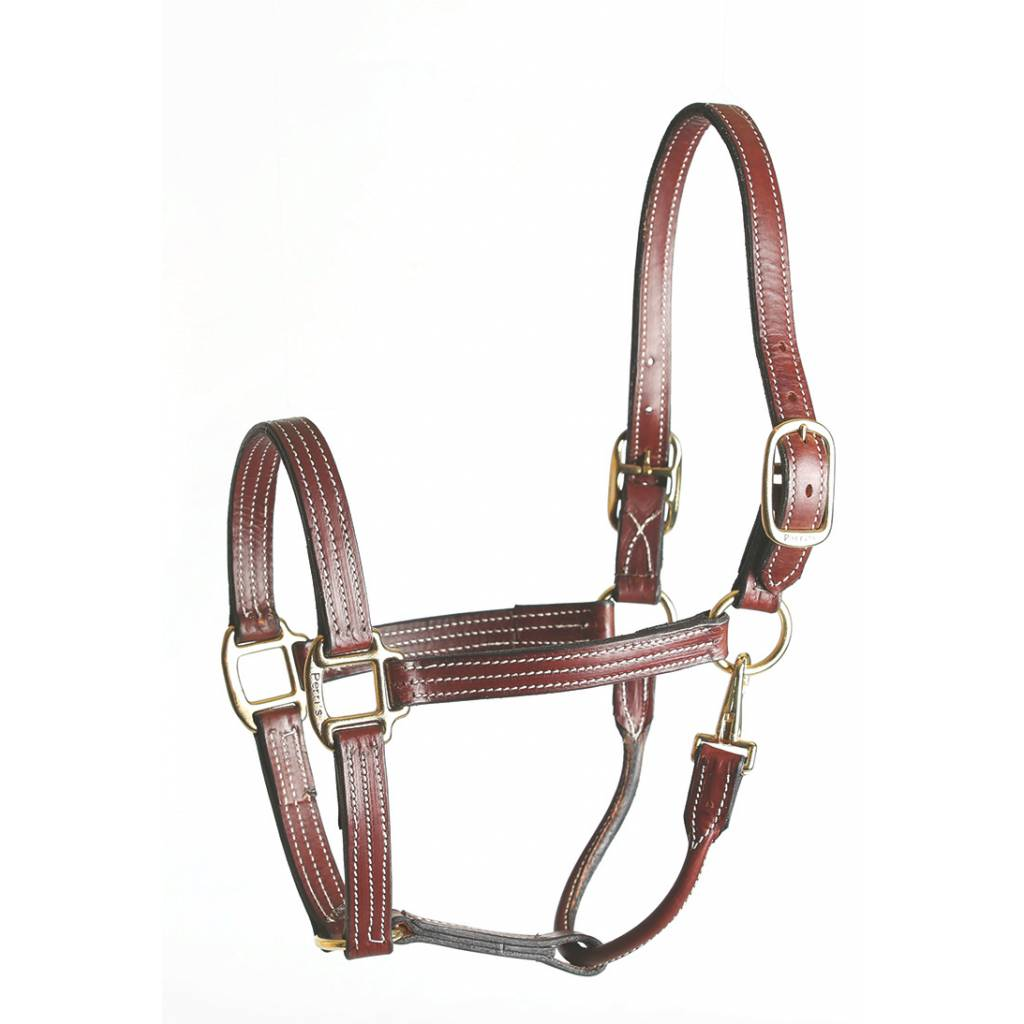 Perris Stable Leather Halter