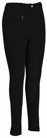 TuffRider Ladies Plus Size Ribbed Full Seat Breeches