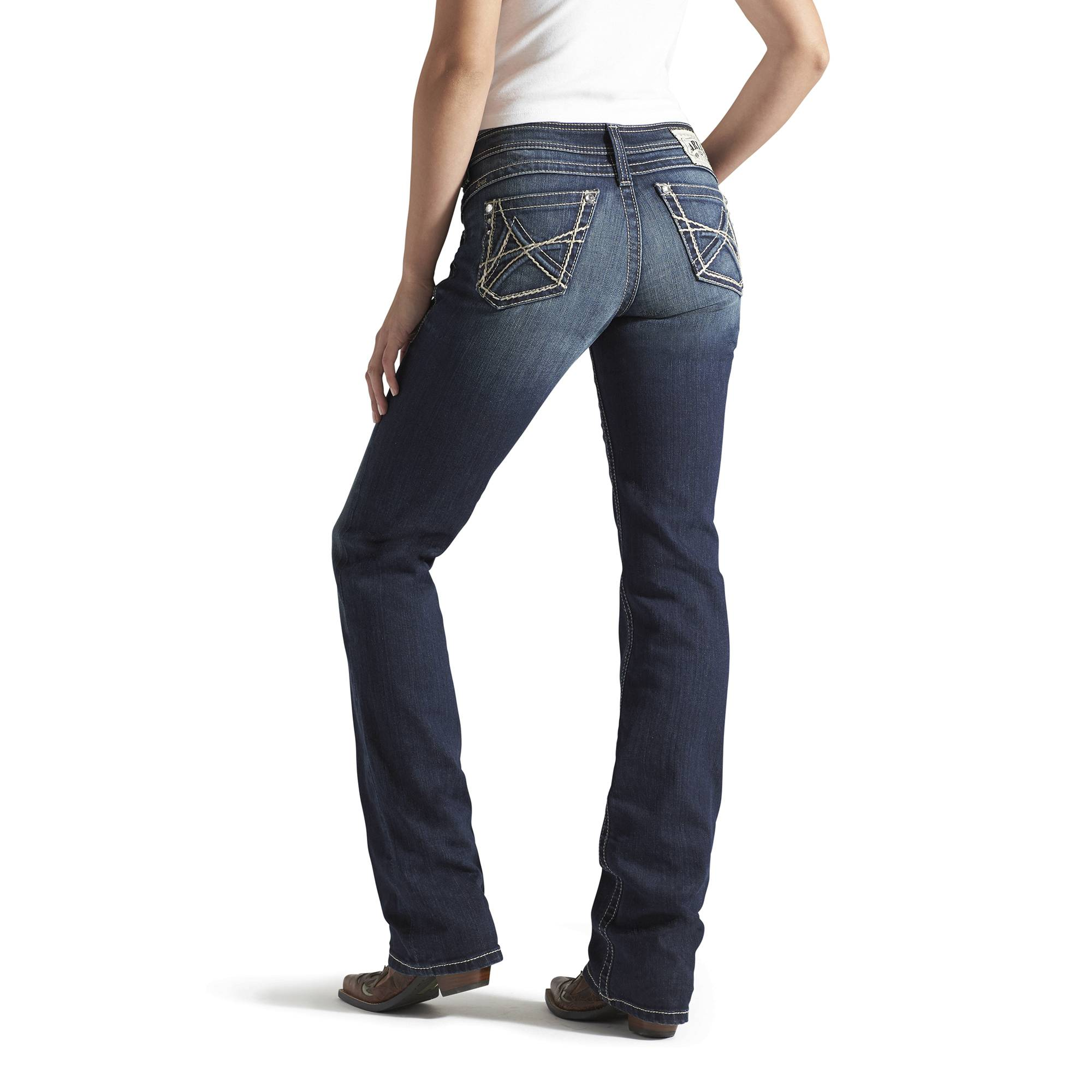 Ariat Amber 3D A Denim Jeans - Ladies, Loveless