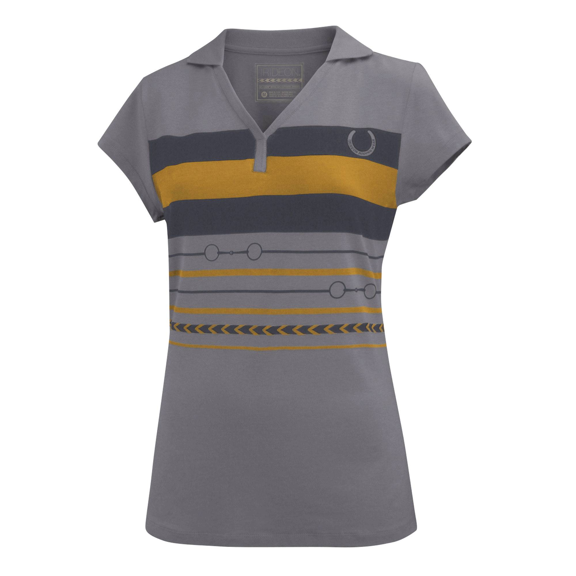 Irideon Two-Bit Short Sleeve Polo - Ladies