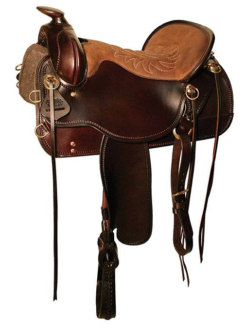 Tucker Cheyenne Frontier New Tooling Full Skirt Saddle