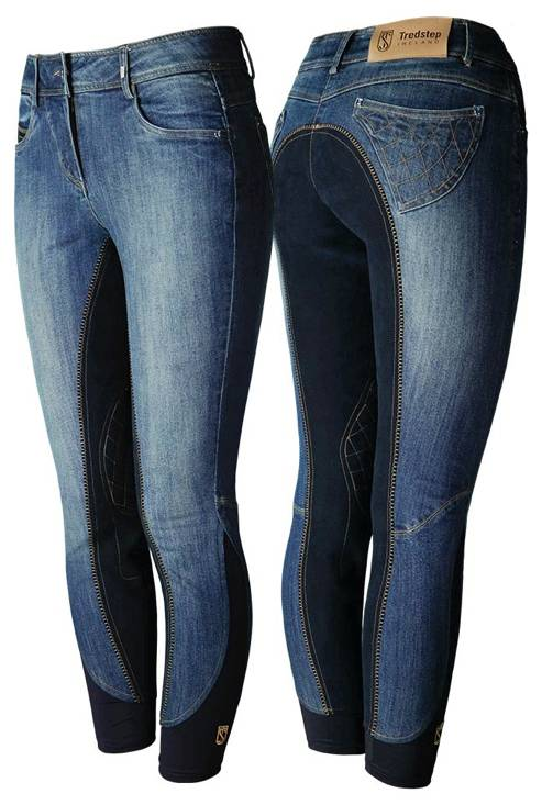 Tredstep Denim Breeches - Ladies, Full Seat
