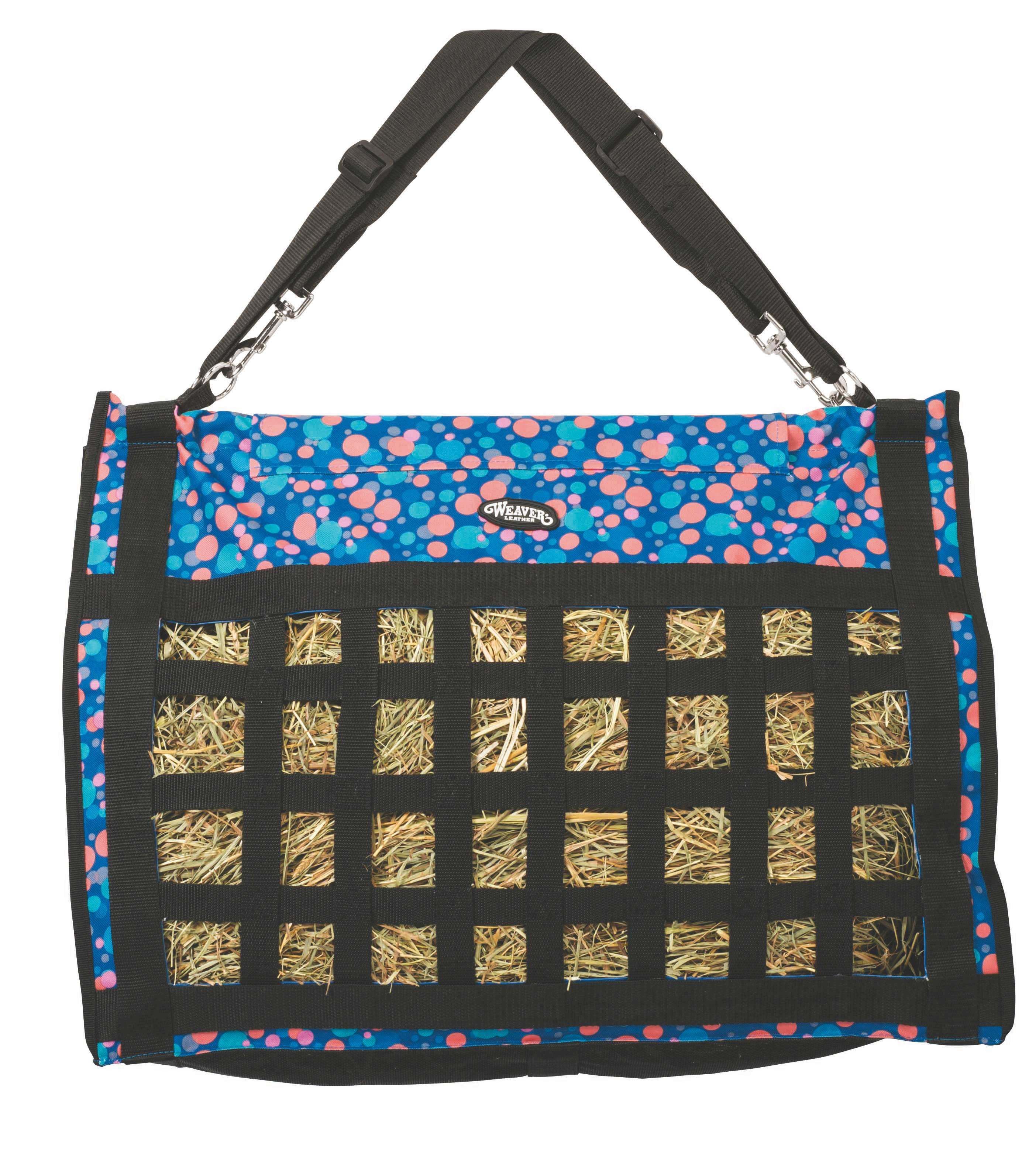 Weaver Leather Slow Feed Hay Bag - Bubbles