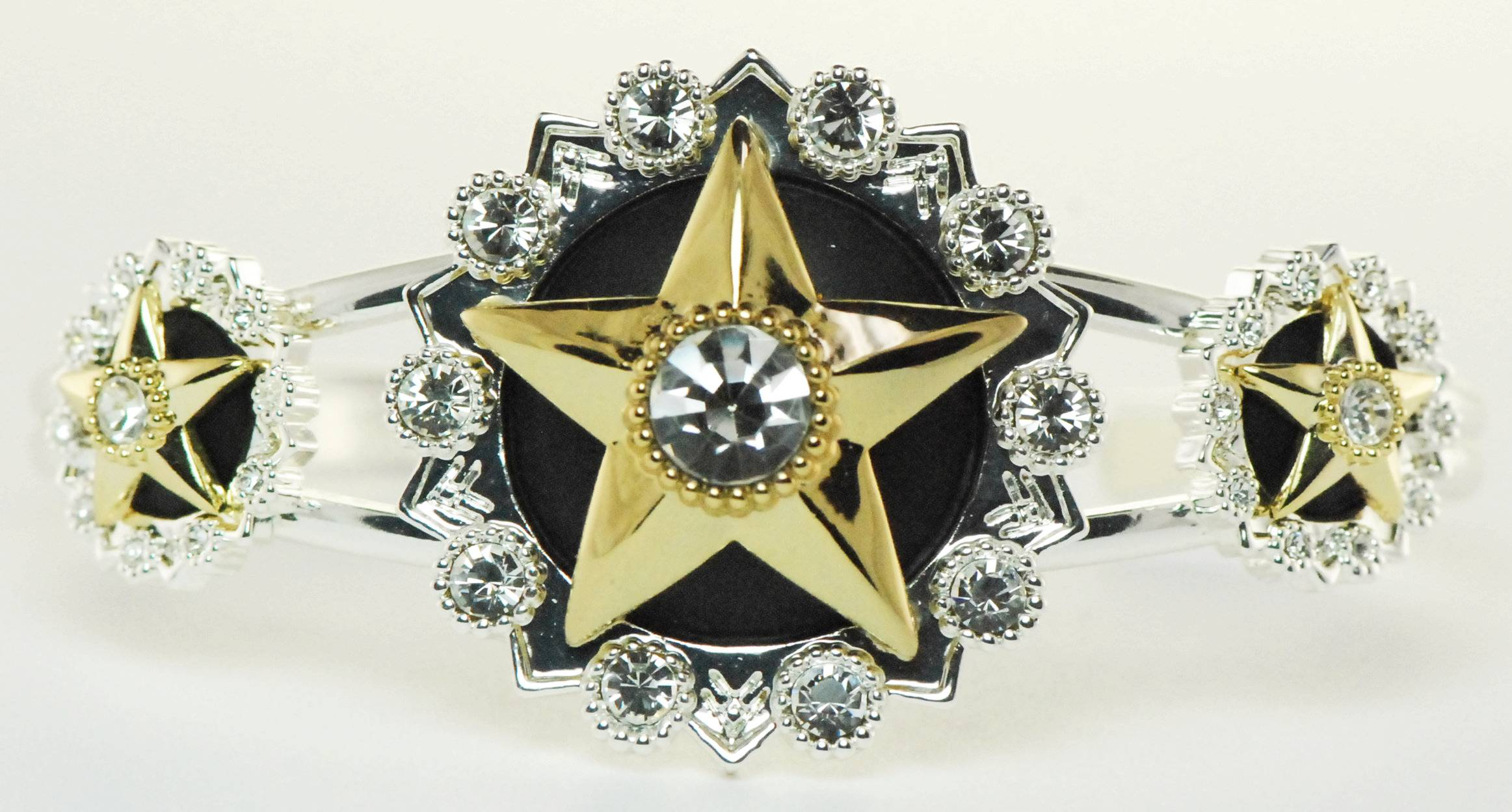 Western Edge Jewelry Crystal Center Star Bracelet