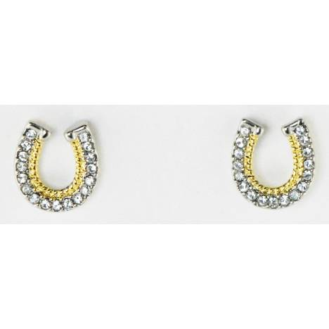 Western Edge Jewelry Horseshoes Rope Earrings